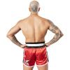 8 weapons muay thai shorts super mesh rot schwarz6