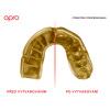 Chránič zubů Opro Power Fit UFC - zlatá/černá
