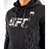 pullover hoodie men´s panska pullover mikina ufc venum fight week black f4