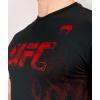 tshirt tricko short sleeve kratky rukav ufc venum authentic fight week mens panske black cerne f4