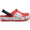 Crocs Fun Lab Snoopy Woodstock Clog K Flame