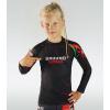 DĚTSKÝ rashguard - sportovní tričko Ground Guard RED TIGER - dlouhý rukáv