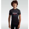 DĚTSKÝ rashguard - sportovní tričko Ground Guard RED TIGER - krátký rukáv
