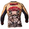 Samurai Panda Rashguard - Tatami fightwear