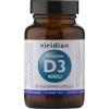 VIRIDIAN nutrition Vitamin D3 90 kapslí