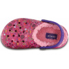 Crocs Classic Lined Graphic Clog K - Candy Pink/Peony