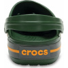 Crocs Crocband - Forest Green/Slate Grey