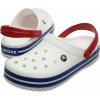 Crocs Crocband - White/Blue Jean