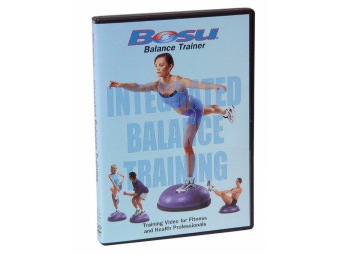 DVD BOSU - Balančný a rovnovážny tréning - originál (USA)