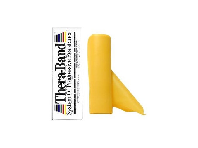 Thera-Band - 5.5 m - Stupeň 2 - Žltý - originál (USA)