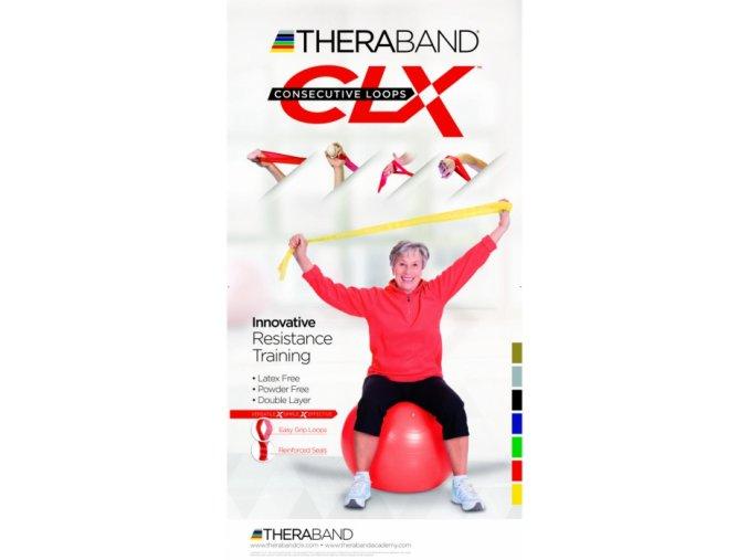 CLX Thera-Band - stupeň 2 - žltý - originál (USA)