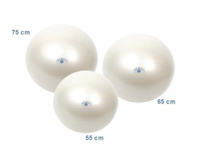 Fit Ball - 75 cm - Perleťová - originál (Italy)