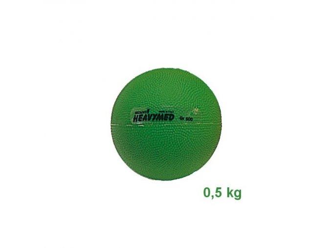 Heavymed medicinbal - 0,5kg - zelený - originál (Italy)