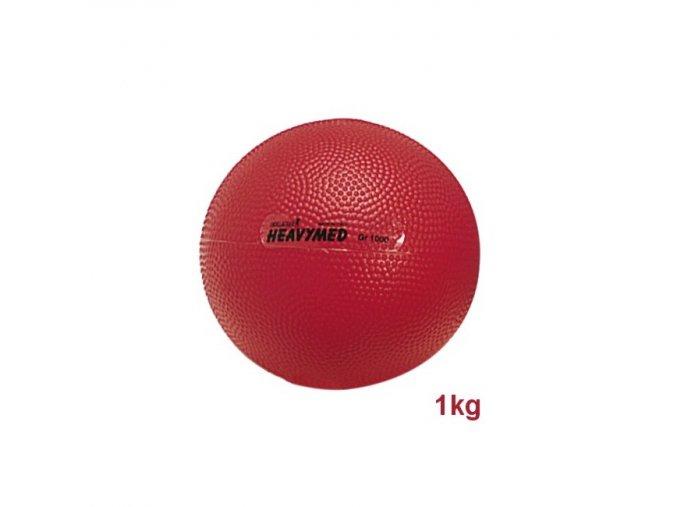 Heavymed medicinbal - 1kg - červený - originál (Italy)