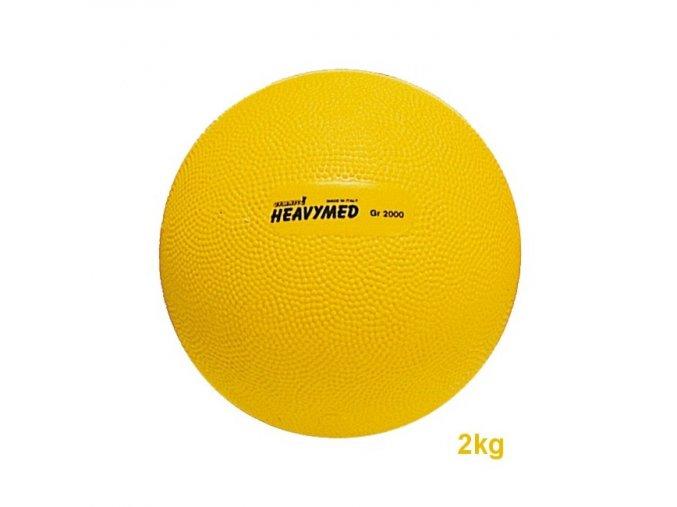 Heavymed medicinbal - 2kg - žltý - originál (Italy)