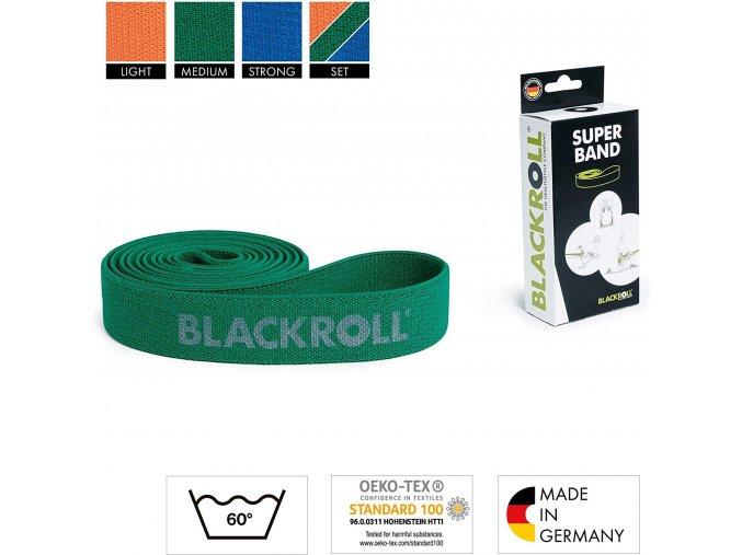 Blackroll SUperBand Green 1500x