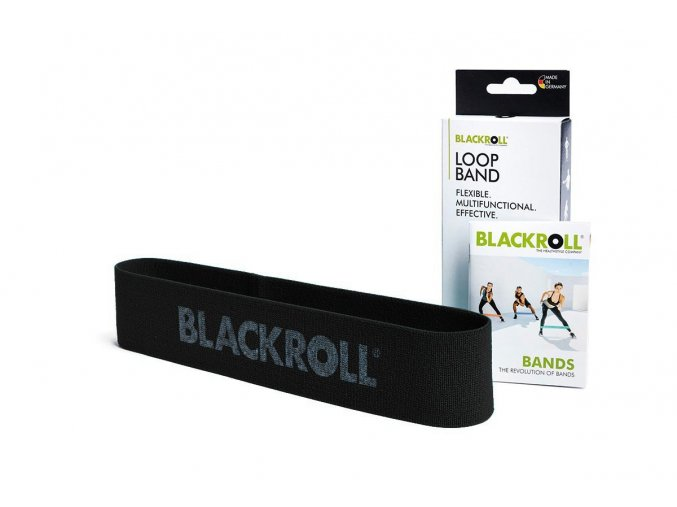 blackroll loop band black