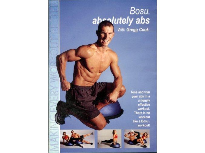 DVD BOSU - Dokonalé brucho - originál (USA)
