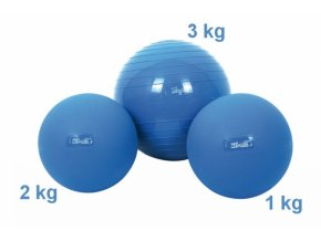 Med Ball - Pružný medicinbal - 3 kg - originál (Italy)