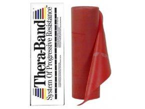 Thera-Band - 5.5 m - Stupeň 3 - Červený - originál (USA)