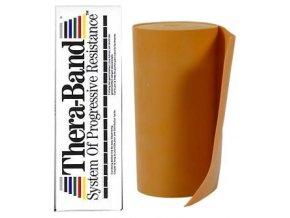 Thera-Band - 5.5 m - Stupeň 8 - Zlatý - originál (USA)