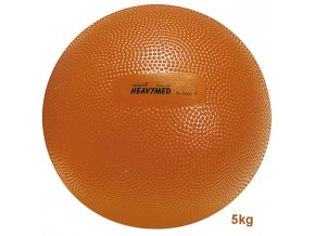Heavymed medicinbal - 5 kg - oranžová - originál (Italy)