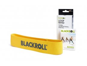 blackroll loop band gelb