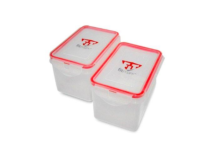 Krabičky na jídlo Fitmark 1000ml (2ks)