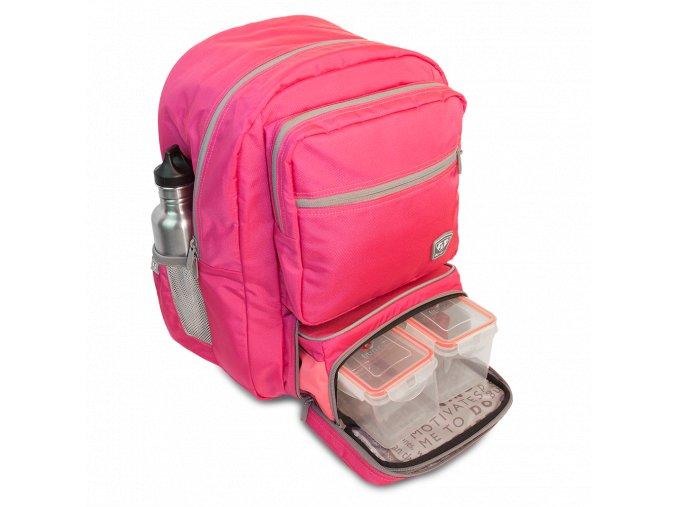 Fitmark batoh TRANSPORTER v růžové barvě  + Dárek