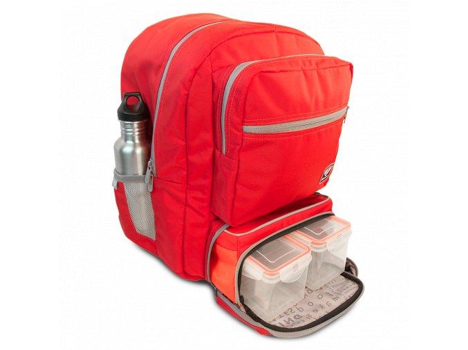 Fitmark batoh TRANSPORTER v červené barvě