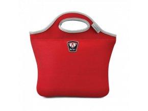 Stylová termo taška the PAC v červené barvě