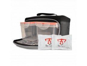 Fitmark termotaška na jídlo THE BOX SM v černé barvě