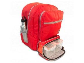 Baťoh Transporter Backpack v červené barvě