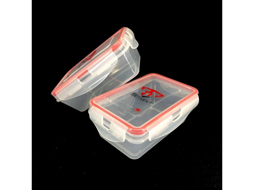 Krabičky na jídlo Fitmark 500ml (2ks)