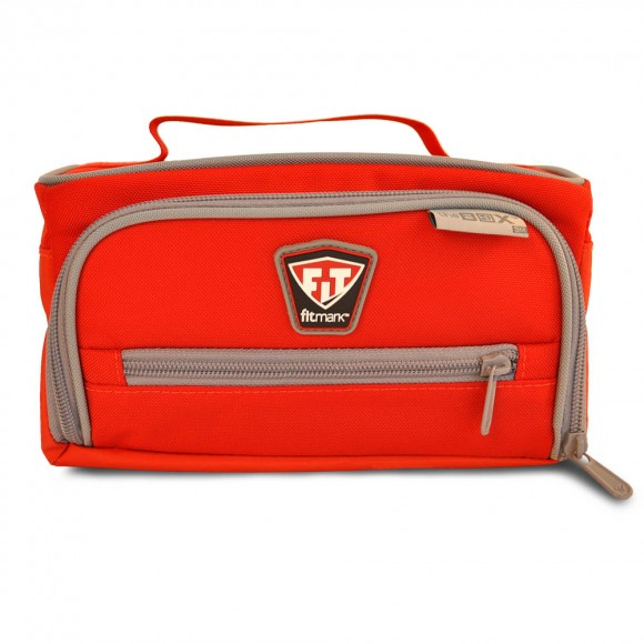 Fitmark termo taška THE BOX SM - červená