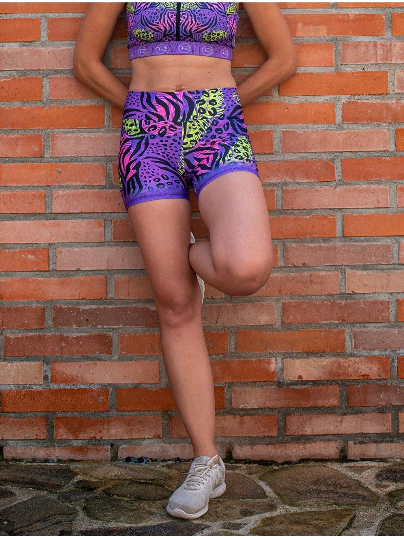 kraťasy EXTREME purple 02