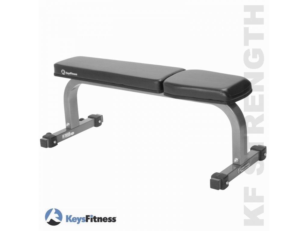 Keys Fitness Posilovací lavice rovná KF-FB