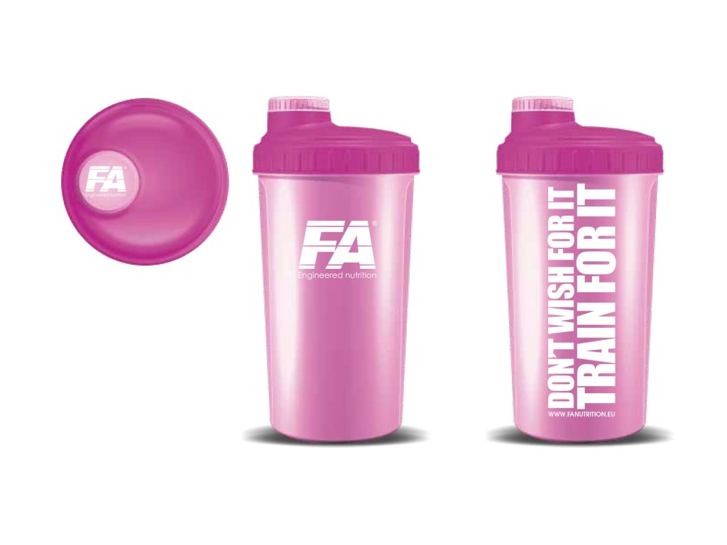 fa shaker pink