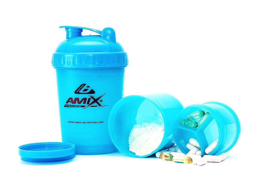 Amix šejkr Monster Bottle Colour