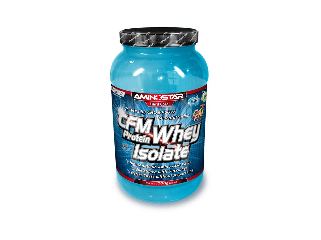 CFM Whey protein isolate 1000g