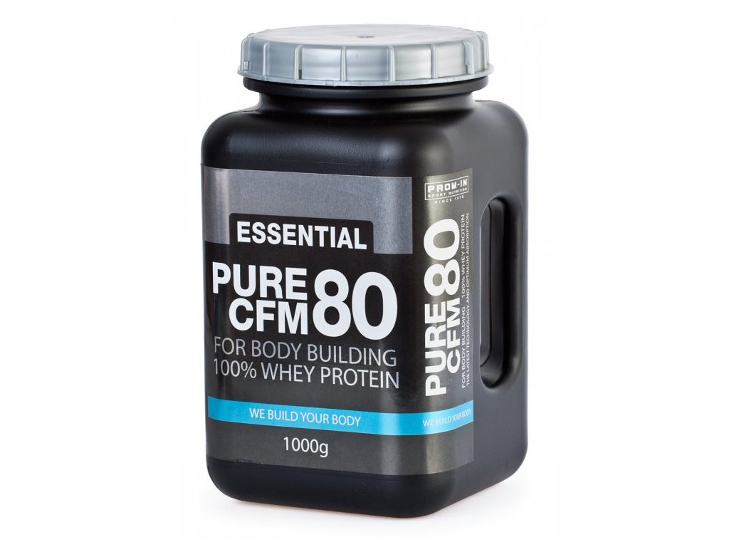 Essential Pure CFM 80 100% Whey protein 1000g