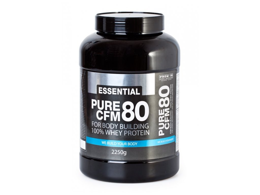 Essential Pure CFM 80 100% Whey protein 2250g