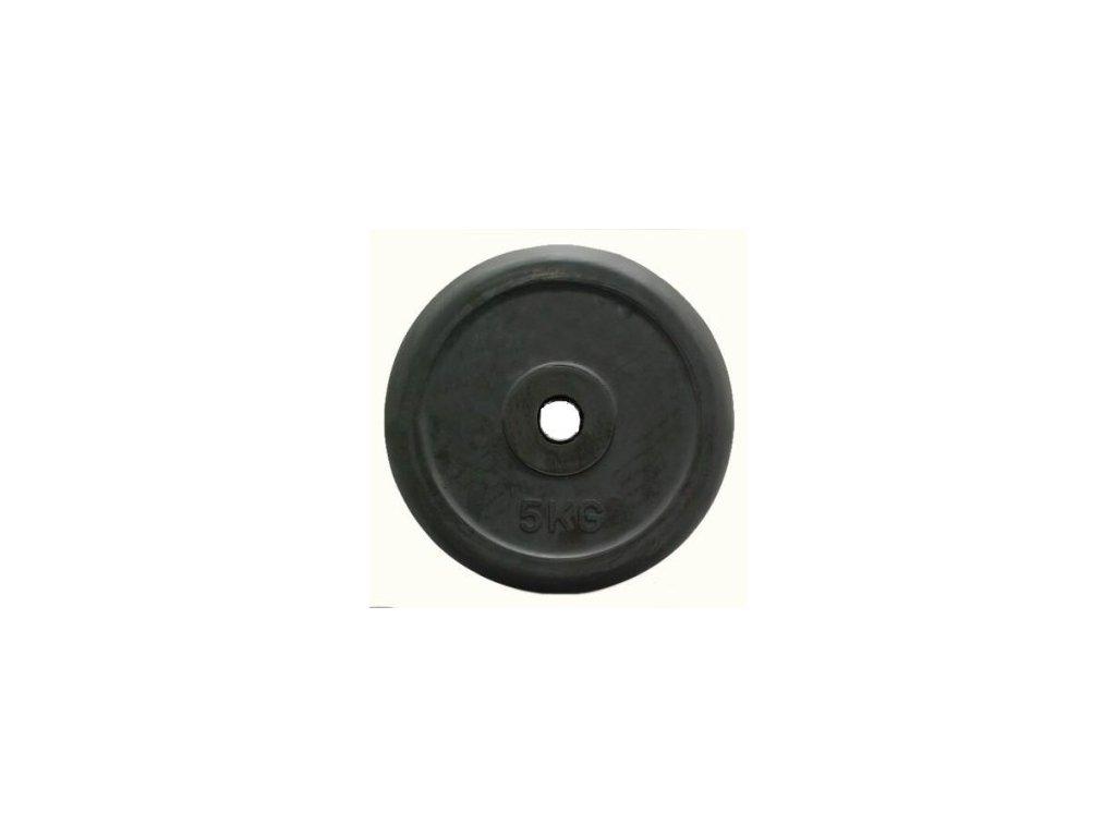 Kotouč pogumovaný černý 5kg