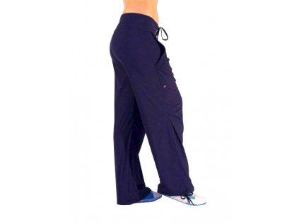 Neywer kalhoty dlouhé, řasené kapsy EK920