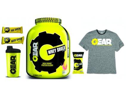 Limitovaná akce - GEAR Whey Shock 2,27 kg