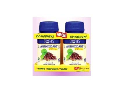 Antioxidant akční dvojbalení 60tbl + 60tbl