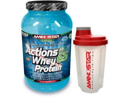 Whey protein 65 + šejkr ZDARMA