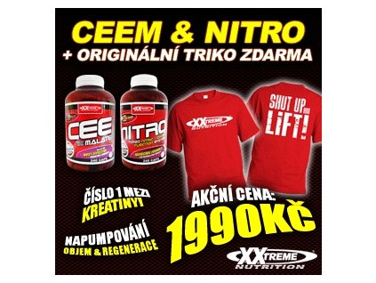 CEEM + Nitro + Triko ZDARMA!