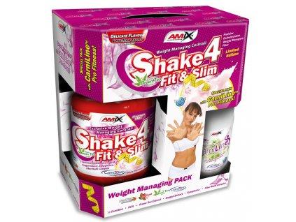 AmiX Shake 4 Fit&Slim 1000g + Carniline 480ml