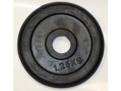 Kotouč pogumovaný černý 1,25kg